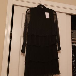 NWT Nasty Gal Tiered Lace Dress
